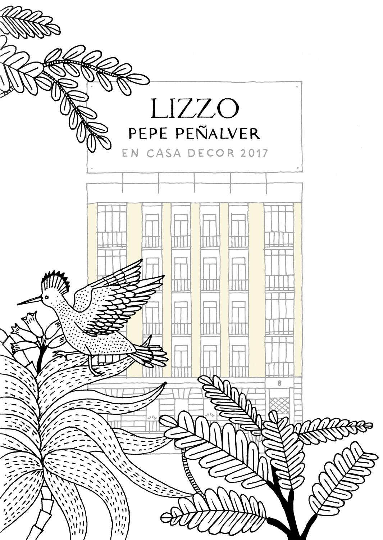 LIZZO y PEPE PEÑALVER en CASA DECOR 2017